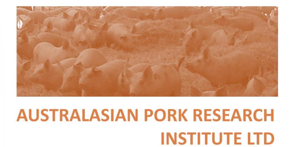 Australasian Pork Research Institute Ltd